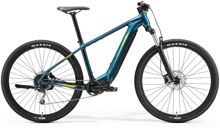 e-Mountainbike Merida eBIG.NINE 400 Türkis-Blau/Lime 2021