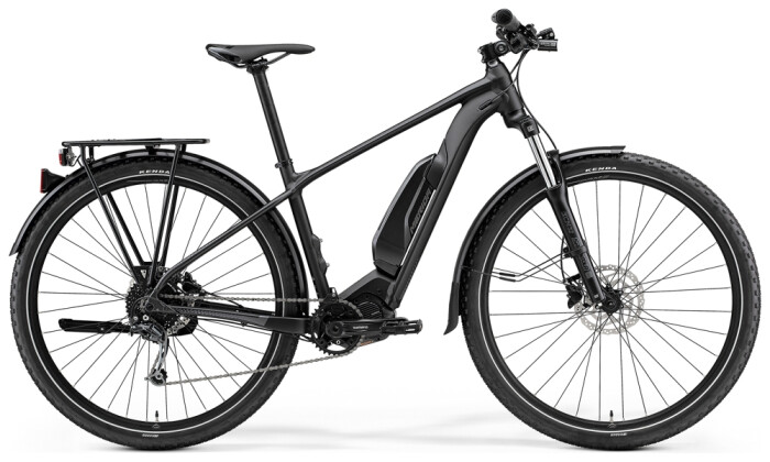 e-Mountainbike Merida eBIG.NINE 300 SE EQ Grau/Schwarz 2021