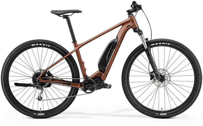 e-Mountainbike Merida eBIG.NINE 300 SE EQ Bronze/Schwarz 2021