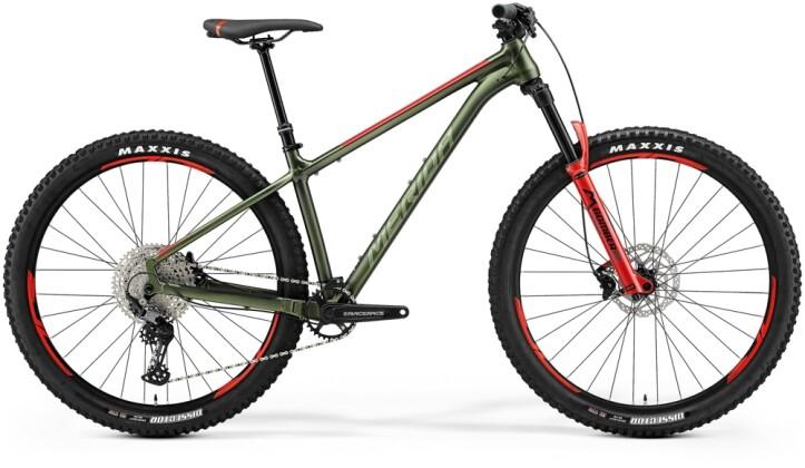 Mountainbike Merida BIG.TRAIL 600 Grün/Rot 2021