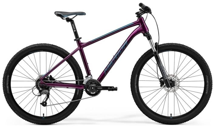 Mountainbike Merida BIG.SEVEN 60 Lila/Türkis 2021