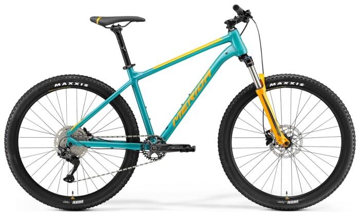 Mountainbike Merida BIG.SEVEN 200 Türkis/Orange 2021