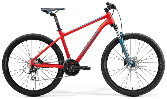 Mountainbike Merida BIG.SEVEN 20 Rot/Türkis 2021