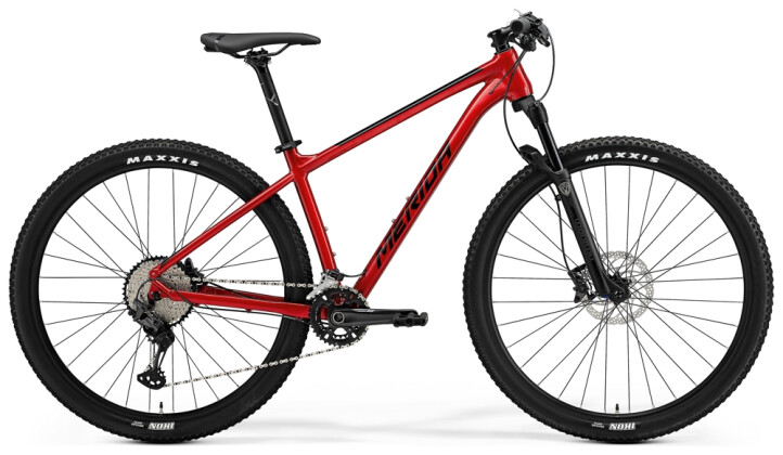 Mountainbike Merida BIG.NINE XT2 Rot/Schwarz 2021
