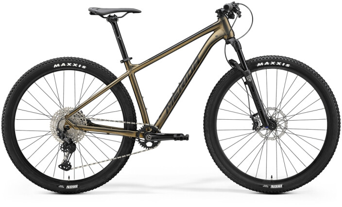 Mountainbike Merida BIG.NINE XT2 Anthrazit/Schwarz 2021