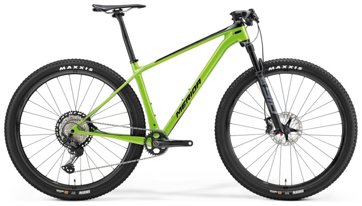 Mountainbike Merida BIG.NINE 7000 Grün/Schwarz 2021