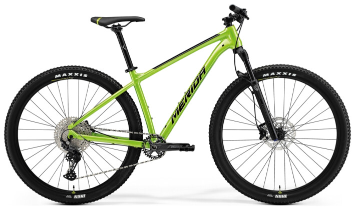 Mountainbike Merida BIG.NINE 400 Grün/Schwarz 2021
