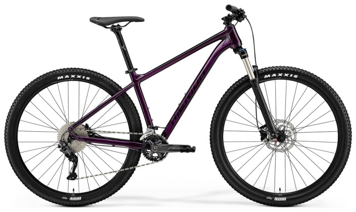 Mountainbike Merida BIG.NINE 300 Lila/Schwarz 2021