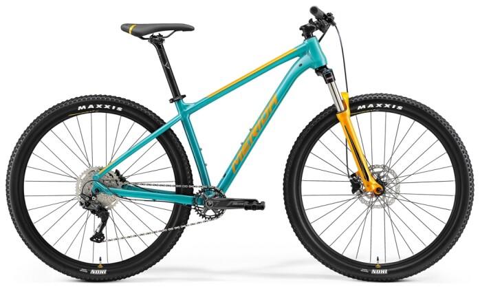 Mountainbike Merida BIG.NINE 200 Türkis/Orange 2021