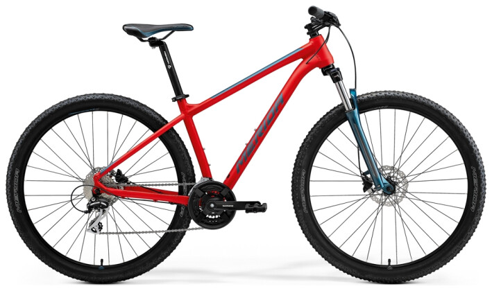 Mountainbike Merida BIG.NINE 20 Rot/Türkis 2021