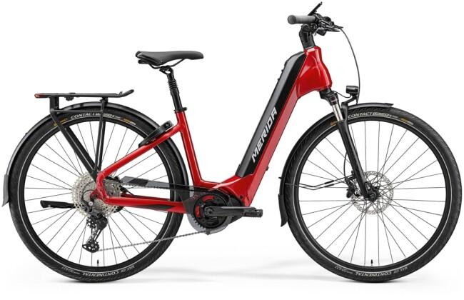 e-Citybike Merida eSPRESSO CITY EP8-EDITION EQ Rot/schwarz 2021