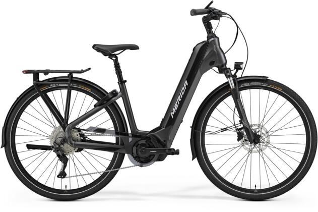 e-Citybike Merida eSPRESSO CITY 500 EQ Anthrazit/Schwarz 2021