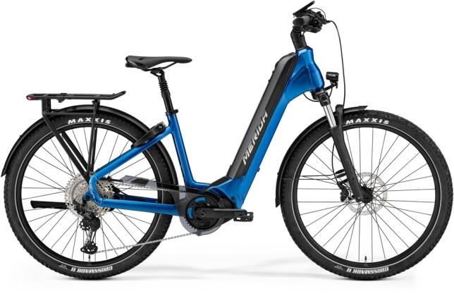 e-Trekkingbike Merida eSPRESSO CC XT-EDITION Blau/Schwarz 2021