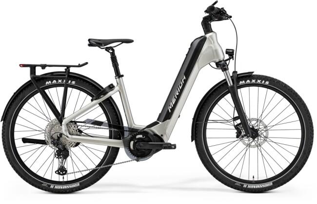 e-Trekkingbike Merida eSPRESSO CC XT 75-EDITION Titan/Schwarz 2021