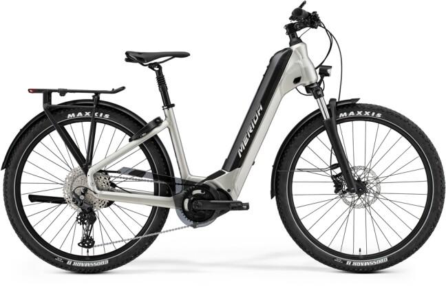 e-Trekkingbike Merida eSPRESSO CC 600 Titan/Schwarz 2021
