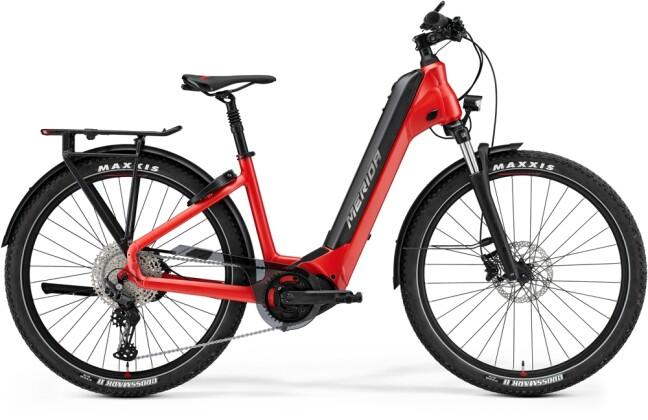 e-Trekkingbike Merida eSPRESSO CC 600 Rot/Schwarz 2021