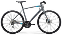 Urban-Bike Merida SPEEDER 100 Matt-Grau/Blau-Rot