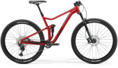 Mountainbike Merida ONE-TWENTY RC 9.XT-EDITION Rot/Schwarz