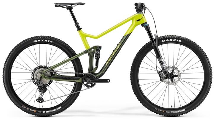 Mountainbike Merida ONE-TWENTY 9.7000 Grün/Lime 2021