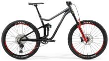 Mountainbike Merida ONE-SIXTY 700 Grau/Schwarz