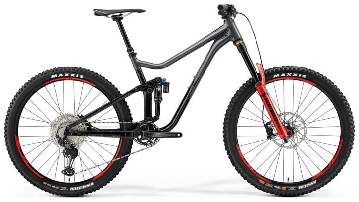Mountainbike Merida ONE-SIXTY 700 Grau/Schwarz 2021