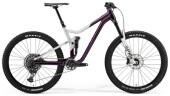 Mountainbike Merida ONE-FORTY 800 Silber/Lila