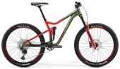 Mountainbike Merida ONE-FORTY 700 Grün/Rot