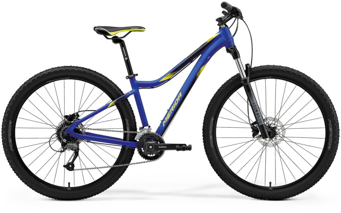 Mountainbike Merida MATTS 7.60 Blau/Gelb 2021