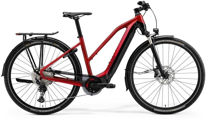 e-Trekkingbike Merida eSPRESSO EP8-EDITION EQ Lady Rot/schwarz 2021