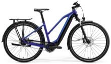 e-Trekkingbike Merida eSPRESSO 800 EQ Lady Blau/Schwarz