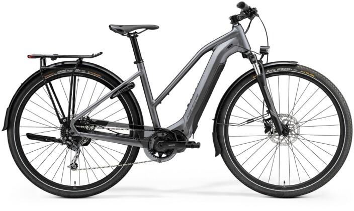e-Trekkingbike Merida eSPRESSO 400 EQ Lady Anthrazit/Schwarz 2021