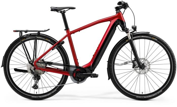 e-Trekkingbike Merida eSPRESSO EP8-EDITION EQ Rot/Schwarz 2021