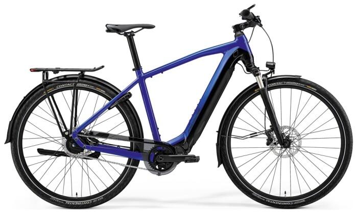 e-Trekkingbike Merida eSPRESSO 800 EQ Dunkel-Blau/Schwarz 2021