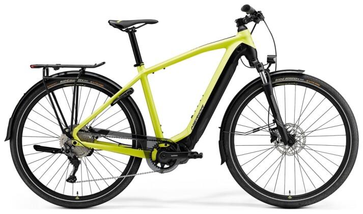 e-Trekkingbike Merida eSPRESSO 500 EQ Lime/Schwarz 2021