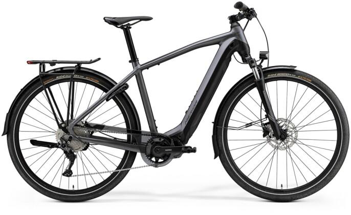 e-Trekkingbike Merida eSPRESSO 500 EQ Anthrazit/Schwarz 2021