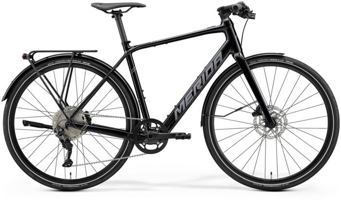 e-Fitnessbike Merida eSPEEDER 400 EQ Schwarz/Matt-Grau 2021