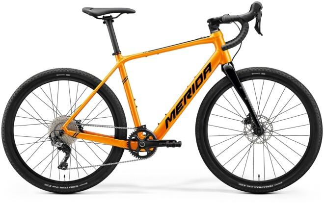 e-Rennrad Merida eSILEX+ 600 Orange/Schwarz 2021