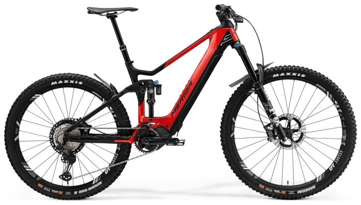e-Mountainbike Merida eONE-SIXTY 9000 Rot/Matt-Schwarz 2021