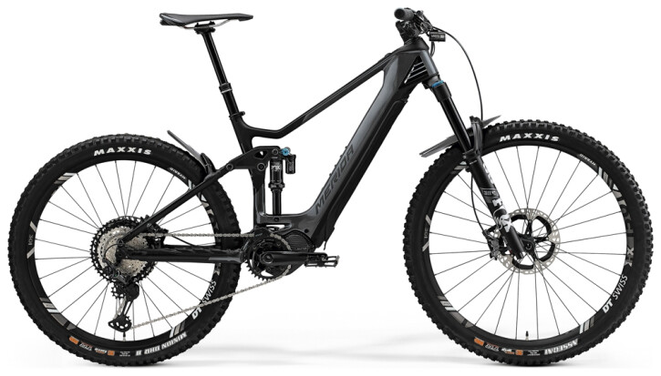 e-Mountainbike Merida eONE-SIXTY 9000 Grau/Matt-Schwarz 2021