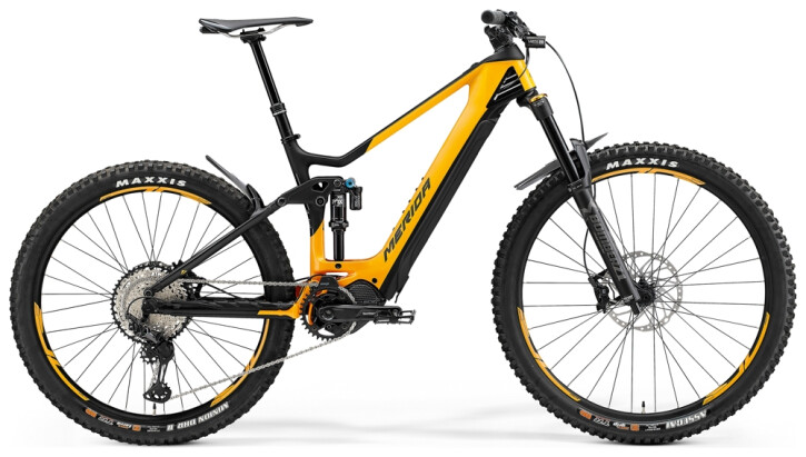 e-Mountainbike Merida eONE-SIXTY 8000 Orange/Matt-Schwarz 2021