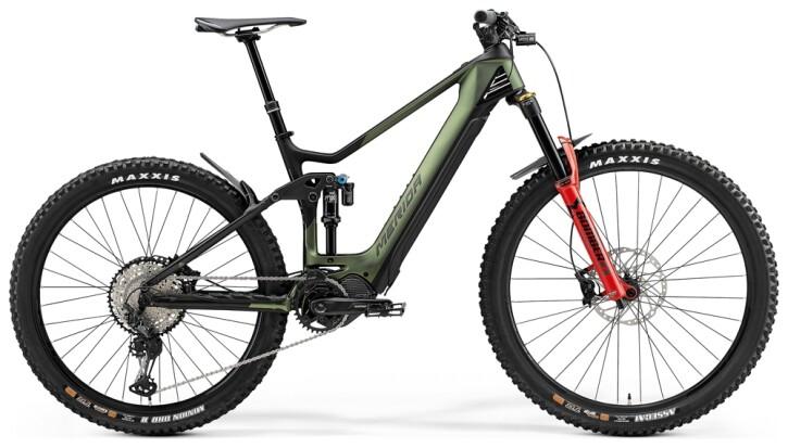 e-Mountainbike Merida eONE-SIXTY 8000 Matt-Grün/Schwarz 2021
