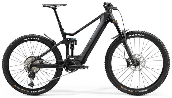 e-Mountainbike Merida eONE-SIXTY 8000 Grau/Matt-Schwarz 2021