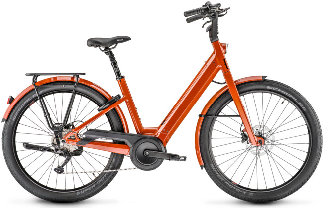 e-Citybike Moustache Bikes LUNDI 27.1 terracotta 2021