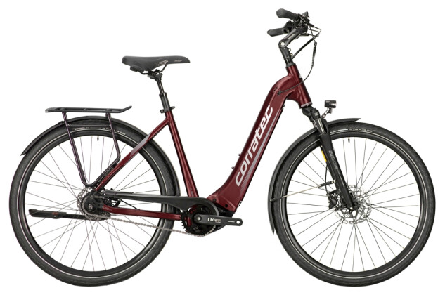e-Citybike Corratec E-Power Trekking Trinity Tube 28 P6 8S (Wave) 2021
