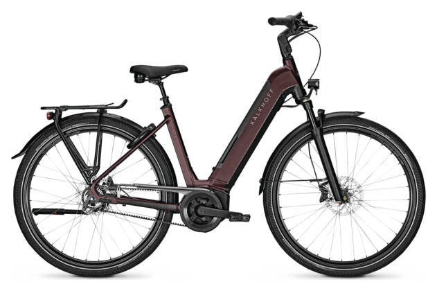 e-Citybike Kalkhoff IMAGE 5.B ADVANCE+ red Wave 2021