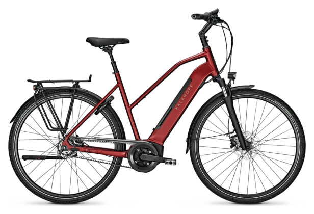 e-Citybike Kalkhoff IMAGE 3. B EXCITE red D 2021