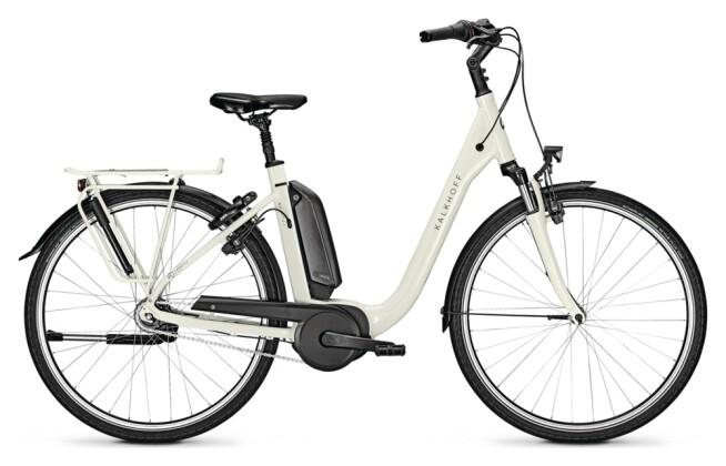 e-Citybike Kalkhoff AGATTU 1.B MOVE white Comfort 2021