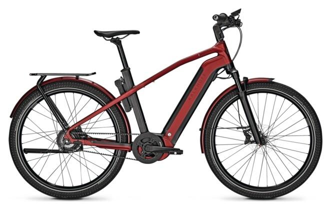 e-Citybike Kalkhoff ENDEAVOUR 7.B BELT black/red H 2021
