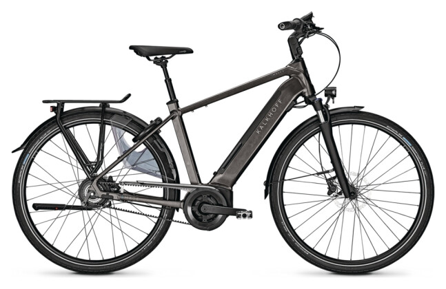 e-Citybike Kalkhoff IMAGE 5.B BELT BLX grey H 2021