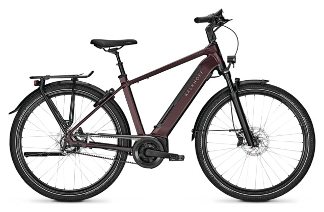 e-Citybike Kalkhoff IMAGE 5.B ADVANCE+ red H 2021